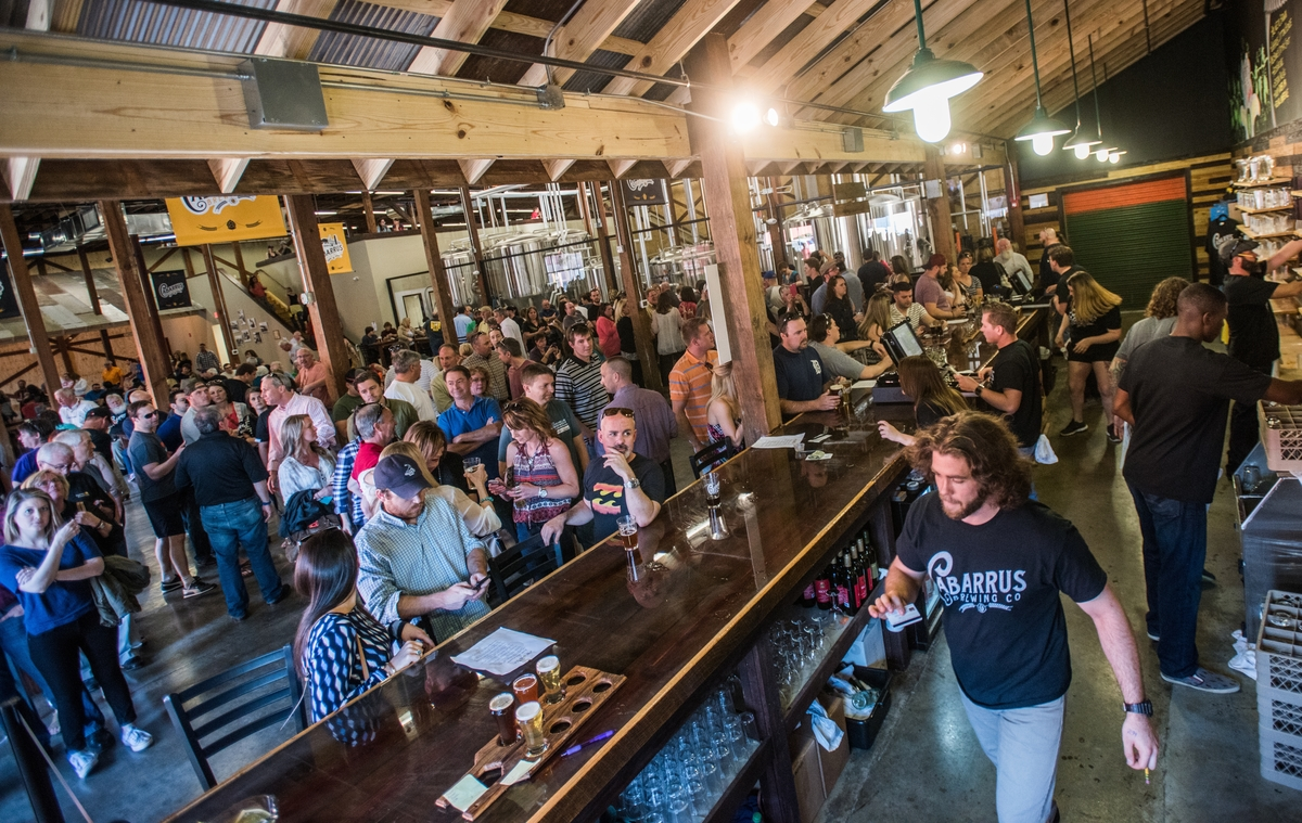Cabarrus Brewing Grand Opening