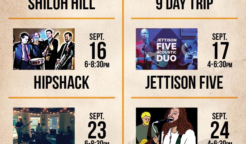 Live Music : September, 2016