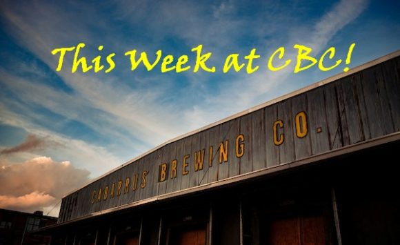 This Week at CBC!  March 9-15, 2020